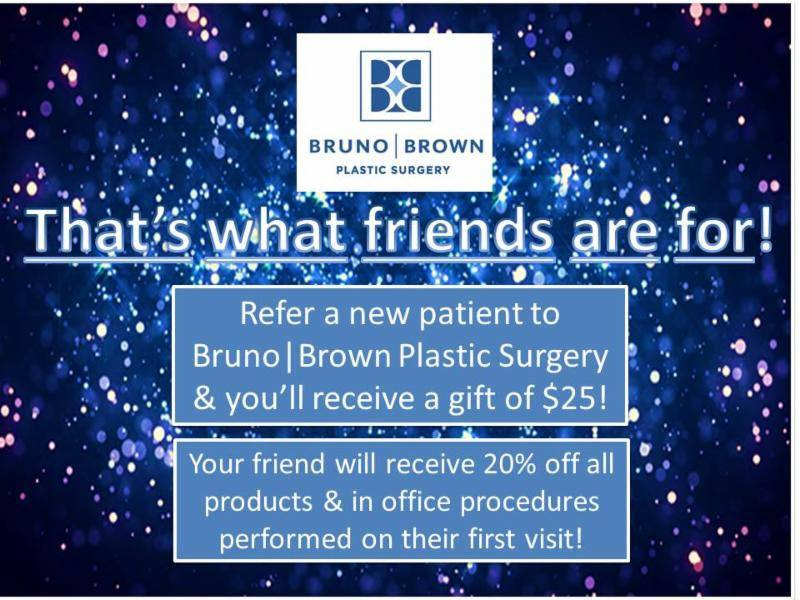 Bruno Brown Plastic Surgery Referral Program