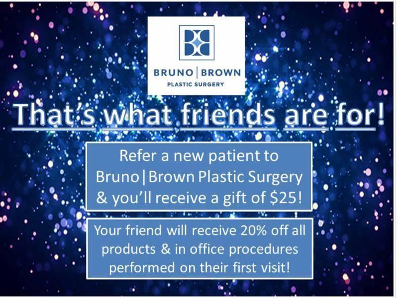 Bruno Brown Plastic Surgery Referral Program